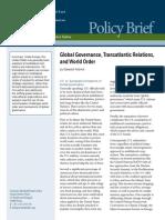 Global Governance, Transatlantic Relations, and World Order