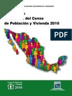 Principales Resultados Censo 2010