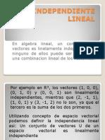 Independiente Lineal