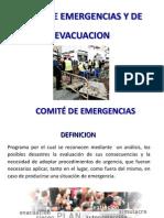 Comité de Emergencias - Funciones y Responsabilidades