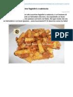 Blog.giallozafferano.it-tortiglioni Alle Zucchine Fagiolini e Salsiccia