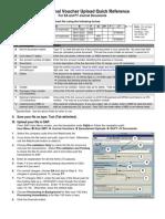 SAP Journal Voucher Quick Reference