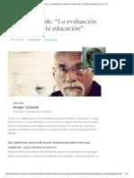 """Roger Schank_ """"La Evaluación Mata a La Educación"""" _ El Blog de Educación y TIC"""