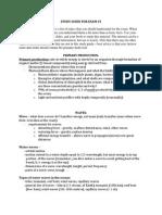 2014 Exam #3 Study Guide