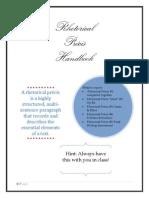 Rhetorical Precis Handbook