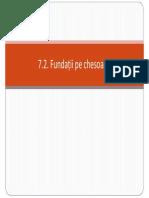 Curs 12 - Fundatii Pe Chesoane, Barete_ian 2012