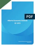 Alberta Economic Outlook Q1 2015