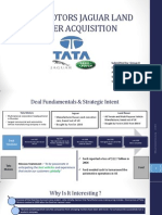 TATA JLR Deal