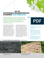 5 Principles. A new strategy of sustainable neighbourhood planning