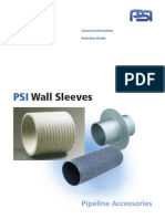 PSI Wall Sleeves