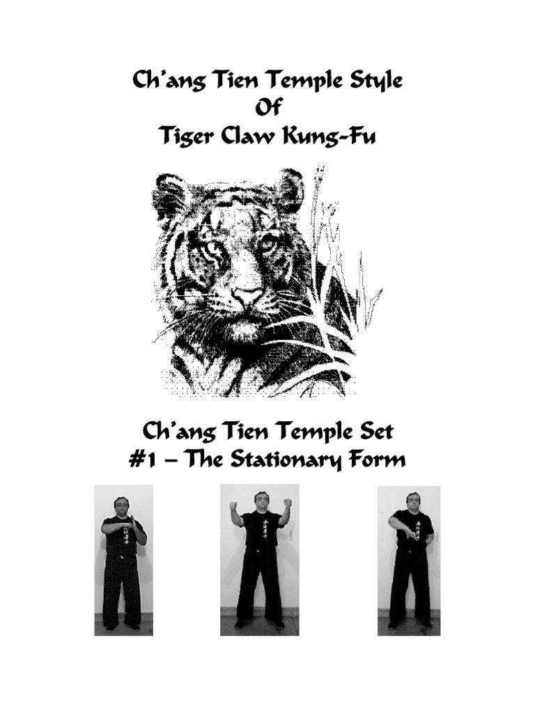 Chang TienCh'ang Tien Temple Style Of Tiger Claw Kung-Fu Temple Tiger Claw  Kungfu | Chinese Martial Arts | Bigfoot