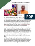 shree satyanarayana katha  a solution to all your   problems pt anil joshi