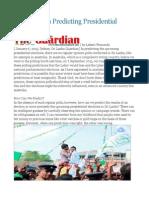 Sri Lanka In Predicting Presidential Elections.odt