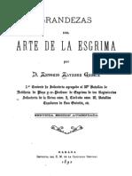 The Greatness of the Art of (Cuban) Fencing - Antonio Alvarez García 1893