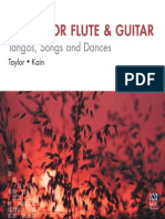 Tangos, Songs and Dances for Flute
