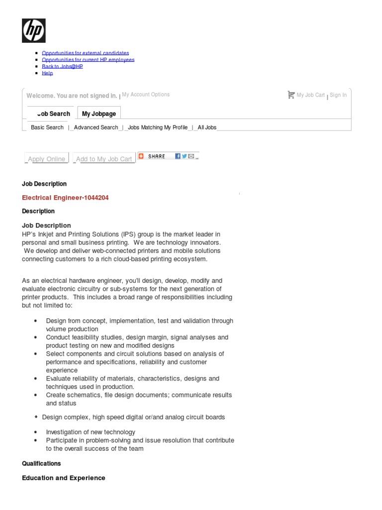 job description electrical engineer 1044204 electronic circuits electrical engineering - Electrical Engineer Responsibilities