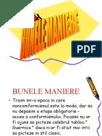 BUNELE MANIERE