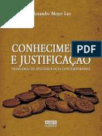 MEYER LUZ Conhecimento e Justificação
