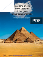 1 Paleomagnetic Investigation of the GreatEgyptianPyramids (Tunyl&El-hemaly)