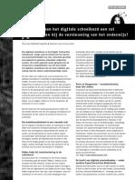 Digitale school bord en de vernieuwing van het onderwijs