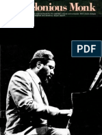 Jazz Masters Thelonious Monk