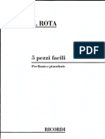 Nino Rota-5 Pezzi Facili (PNO)