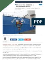 05-01-2015 CÉSAR ACUÑA PRESENTÓ A FUNCIONARIOS DEL GOBIERNO REGIONAL.