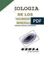 Geologia Los Yacimientos Minerales (Términos, Conceptos y Significados)