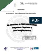 Manual de Residencias Feb-jun 2014