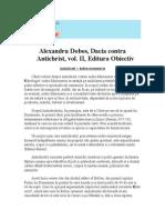 Alexandru Dobos, Dacia Contra Antichrist, Vol. II