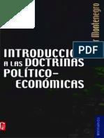 Introducción a Las Doctrinas Político Económicas - Walter Montenegro
