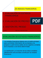 1.-Principales Indices Financieros