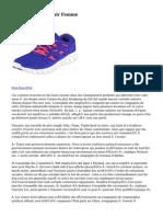 Nike Roshe Run Noir Femme