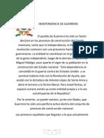 INDEPENDENSIA DE GUERRERO XV.docx