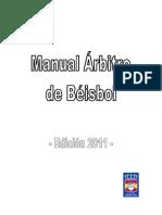 Manual Arbitro Beisbol