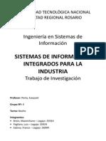 SISTEMAS DE INFORMACIÓN INTEGRADOS PARA LA INDUSTRIA