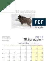 Librezale egutegia 2015