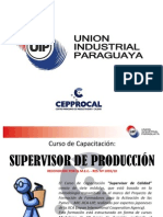 Supervisor de Produccion