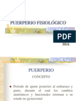 PUERPERIO FISIOLÓGICO