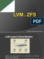 Lvm VS ZFS