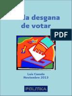 De La Desgana de Votar