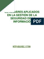 Clase 04 - Estandares de Seguridad de Informacion