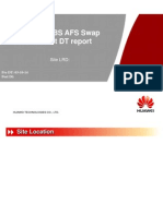 AFS Swap Report
