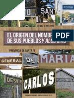 Origen Del Nombre de Los Pueblos de Santa Fe Libro Nedo