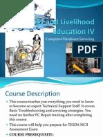 Course Outline (hardware servicing)