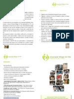 folheto de apresentaçao AMVPP