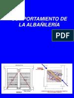 Comportamiento de La Albañileria