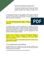 Unidad 1 Diseño Organizacional