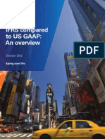 Accounting IFRS Compared to US GAAP 2012