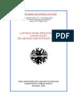 Laporan Pemantauan Ling Batu apung.doc